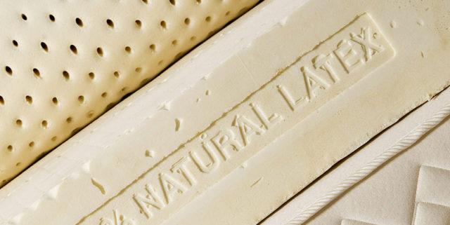 Matière latex naturel