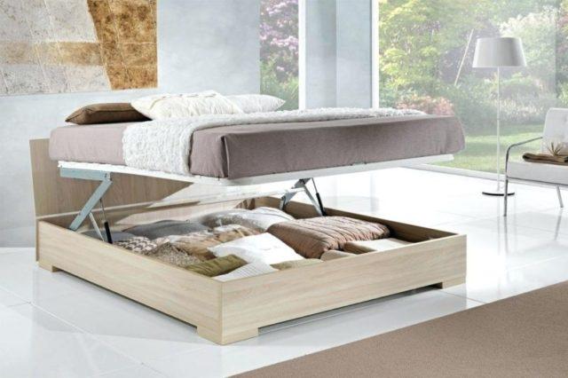 le lit coffre une solution au manque d 39 espace. Black Bedroom Furniture Sets. Home Design Ideas