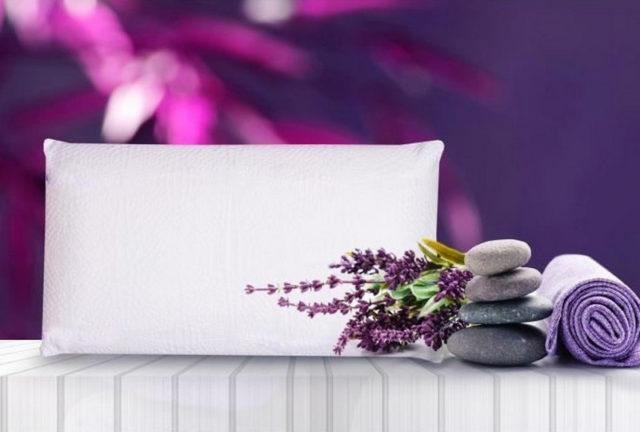 Bien dormir avec l'oreiller naturel à la lavande